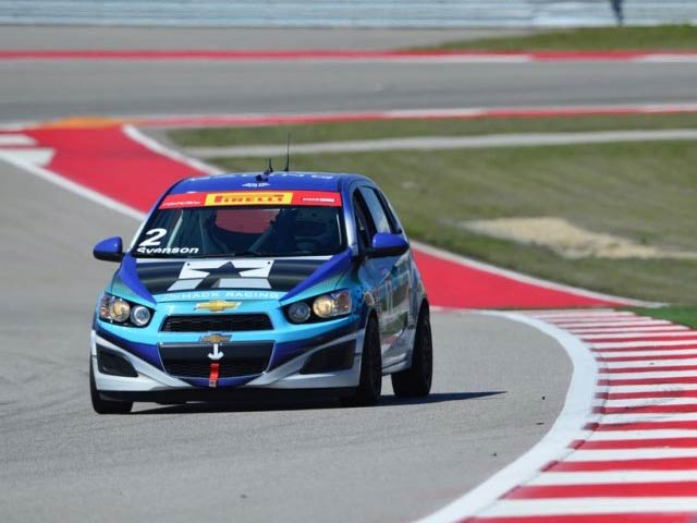 Hack Racing Chevy Sonic at COTA